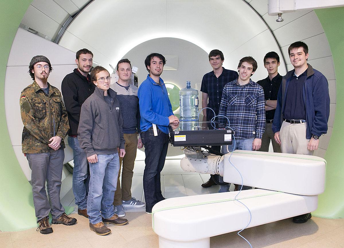 Proton Therapy Institute, Virginia CubeSat Constellation