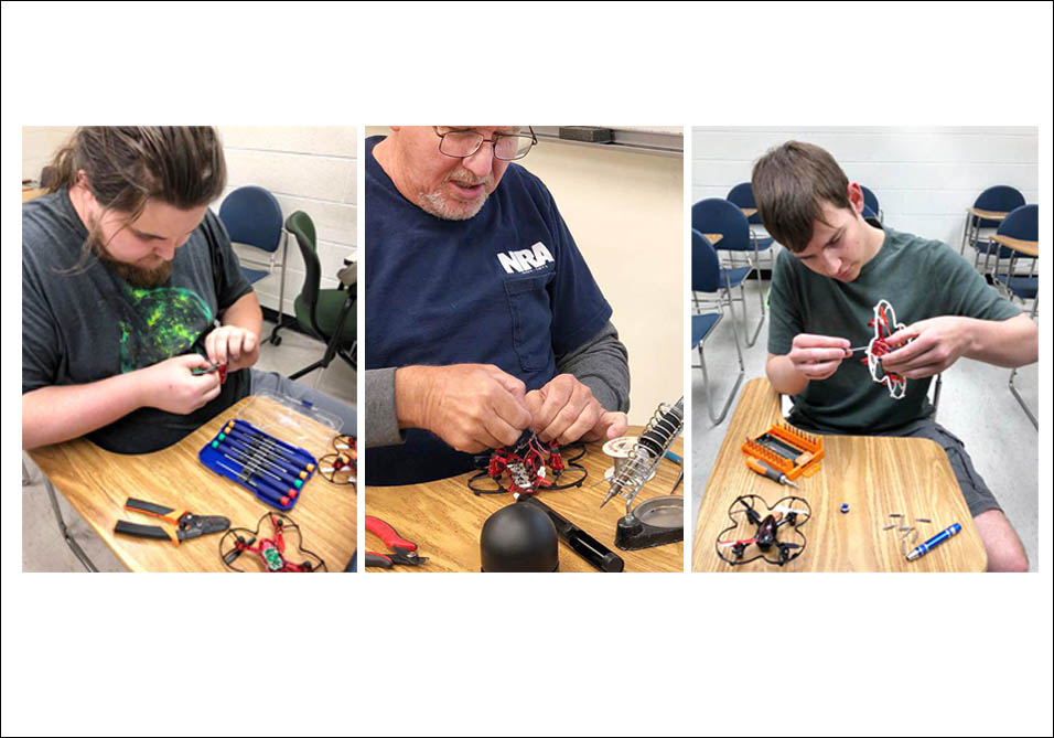 GEOTED-UAS Drone Repair Class