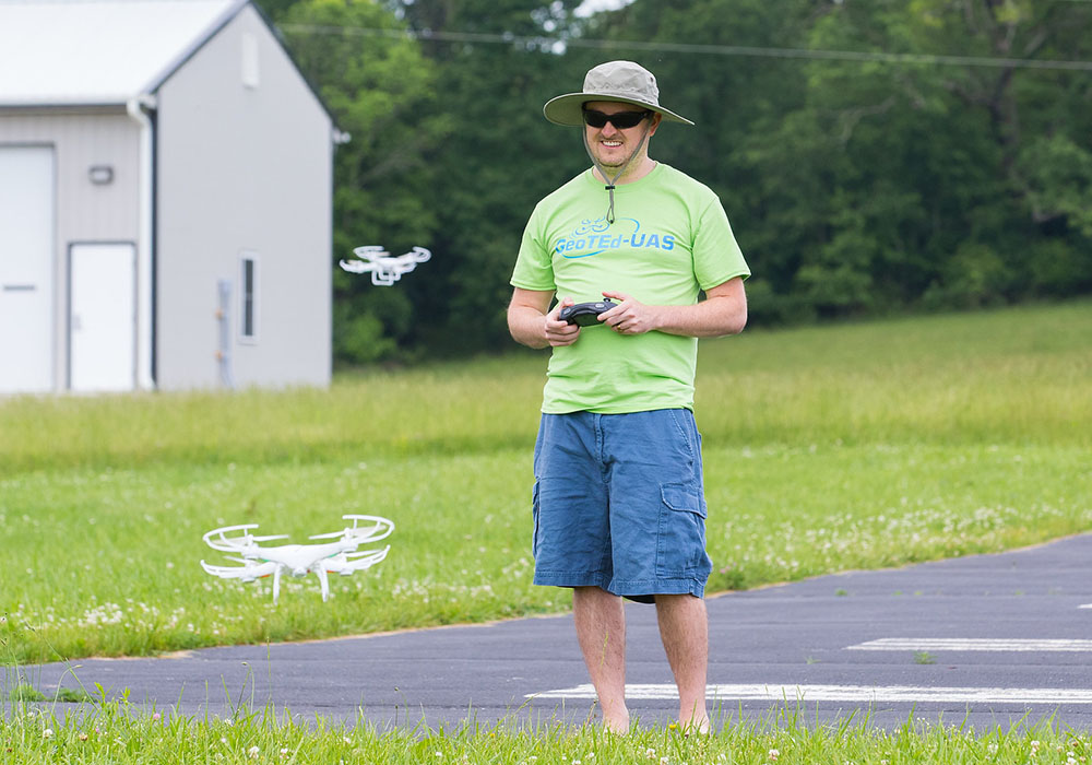 GeoTEd Faculty Institute Drone Workshop