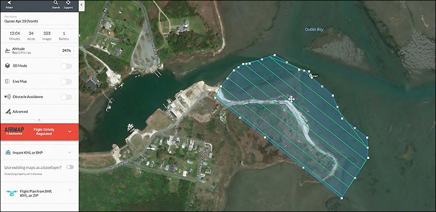 Oyster Virginia Mapping